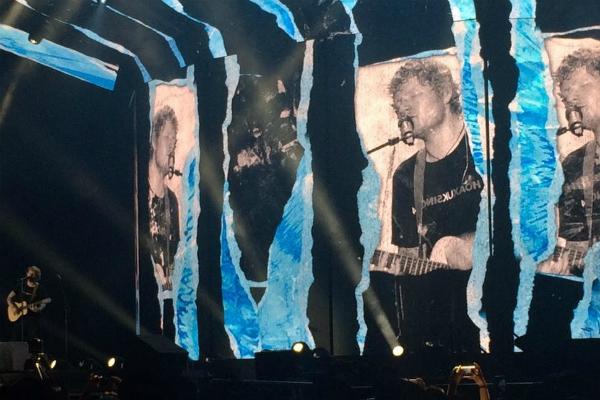 Ed Sheeran en la Arena VFG